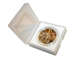 10 New Coin Collectible Plastic Cases - 1000 available Free Shipping - $8.99