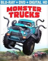 Monster Trucks (Blu Ray/DVD W/Digital Hd) (2Disc)