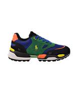 Polo Ralph Lauren Jogger Polo Player Men's Shoes Elite Blue-Green 809829... - $110.40
