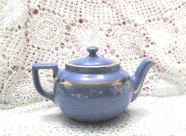 Vintage Blue & Gold Hall 6 Cup Teapot  - $13.55