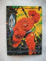 1993 Skybox Marvel Masterpieces Trading Card # 14 Thing - $0.95