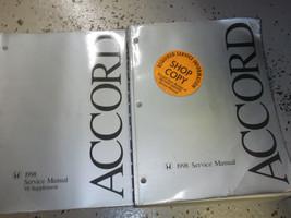 1998 Honda Accord Service Shop Repair Manual Dealership Set Honda W V-6 Book - $187.10