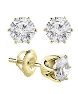 0.60Ct/VS1/F ROUND CUT GENUINE DIAMONDS SET IN ... - $1,500.00