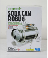 Green Science Soda Can Robug Vibration Sensation Create a Robot Build Re... - $9.90