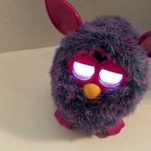 Furby  2012 Pink Purple Interactive Toy Eyes Light Up Tested Works Video... - $39.95