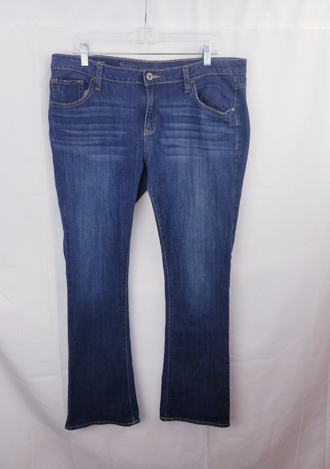 130661c9d Simply vera wang womens jeans boot cut dark and 50 similar items