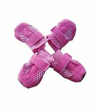 Fashional Breathable Mesh Dog Boot Pet Casual Shoes, Pink - $10.47