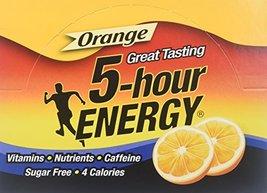 Regular Strength 5-hour ENERGY Shots  Orange Flavor  24 Count - $48.00