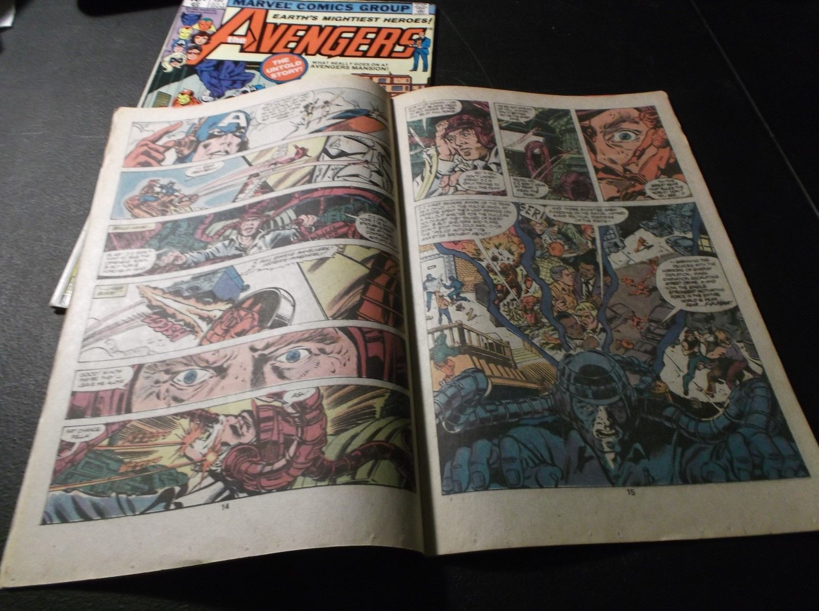 AVENGERS Issues 197 & 198 * Beast Gets Drunk, Red Ronin & Ms. Marvel Pregnant!!!