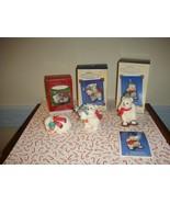 Hallmark 2001, 2002 & 2003 Snowball & Tuxedo Series 1st, 2nd & 3rd  Ornament - $39.99