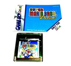 Super Mario Bros. Deluxe (Nintendo Game Boy Color, 1999) - $17.63