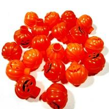 Vintage Halloween Blow Mold Plastic Light Covers Pumpkin Jack O Lantern ... - $22.95