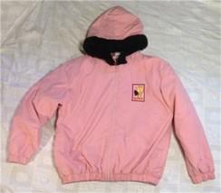 Warner Bros Tweety Bird Pink Kids XL Jacket with Hood - $24.75