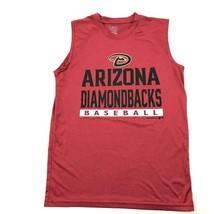 MLB Arizona Diamondbacks Baseball Sleeveless Jersey Big Logo AZ D-Backs ... - $13.08