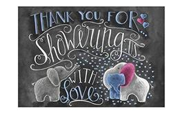 Primitives by Kathy Thank You Baby Shower Thank You Cards - $11.99
