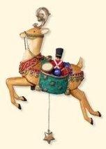 Hallmark Keepsake Yuletide Treasures #2 Reindeer Ornament with Motion - $14.84