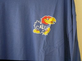 Champion NCAA Mens Champ Pride LS Tee Kansas Jayhawks Blue Sz XL NWT - $19.80
