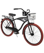 "Men's Beach Cruiser Bike 26"" Perfect Fit Steel Frame Comfort Ride, Matte... - $254.75"