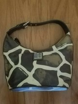 Dooney & Bourke D&B Giraffe Animal Print Shoulder Bag Purse Handbag  - $42.06
