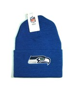 NFL Seattle Seahawks  Blue Classic Cuffed Knit Winter Beanie Hat Cap - $15.83