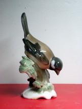 ROSENTHAL HANDGEMALT PORCELAIN SPARROW BIRD FIGURINE ESTATE FIND  - $59.40