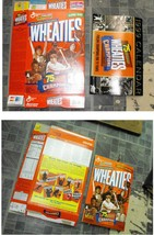 Wheaties Cereal Box Flat Empty 75 Years Of Champions 1999 Box Plus Calendar - $16.99