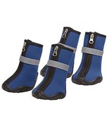 Zack & Zoey Neoprene Dog Boots Winter Paw Protection Safety Sole - Choos... - £26.71 GBP