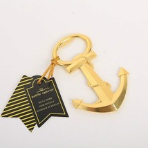 Opener Creative Gold Nautical Anchor Metal Beer Bottle Personalized Favo... - £2.97 GBP