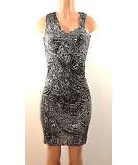 Kenneth Cole New  York Modern Prism Sleevele  Drapey  Dress,   X-Small - $31.44