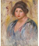 Portrait of a Woman (Gabrielle Renard), 1912 - 24x32 inch Canvas Wall Ar... - $51.99