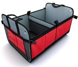 Portable Folding Storage Cargo Container Trunk Organizer for Car SUV Tru... - €45,95 EUR