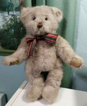 "GUND Vintage 1987 Bialosky Bear green now Jointed 15""  - $37.37"