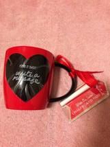 HALLMARK  VALENTINE COFFEE MUG / CUP--MAKE IT SWEET-WRITE MESSAGE-FREE S... - $15.14