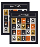 The Art of Magic Forever Stamps by USPS [2018 Release] (2 Sheets of 20) ... - $63.24