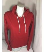 Old Navy Men Red Hoodie Size M Long Sleeve Made In Bangladesh Bin63#39 - $18.70