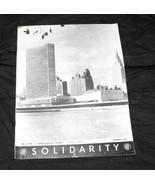 United Nations UN Solidarity Oct 1965 german english edition - $14.99