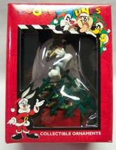 "Matrix Looney Tunes Bugs Bunny On Carrot Tree Rack 4"" Christmas Ornament 1996 - $19.80"