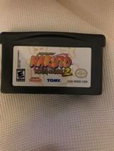 Nintendo Game Boy Advance GBA - Naruto Ninja Council 2 cartridge only - $7.69