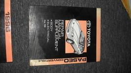 1996 Toyota Paseo Convertible Repair Shop Service Manual Supplement OEM ... - $11.01