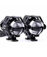 U5 LED Motorcycle Driving Headlight Fog Spot Light + Switch For Harley H... - $20.79