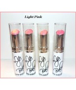 "NEW LOT OF 4 ""CITY COLOR"" CREAMY LIP BALM  LIGHT PINK  FREE SHIP + FREE ... - $13.95"