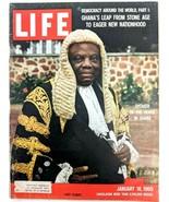 LIFE Magazine Jan 18 1960 VTG RARE Sample Copy Ghana Nixon Eisenhower Sk... - $26.61