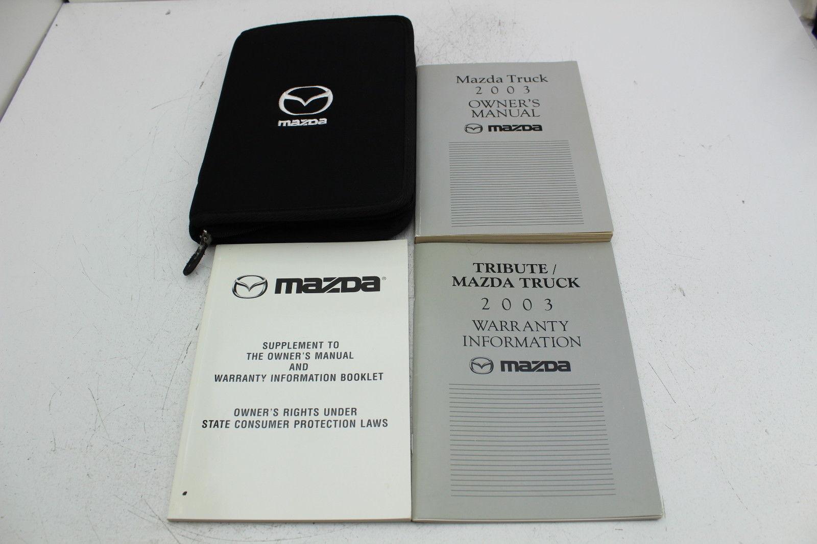 03 mazda tribute vehicle owners manual and 50 similar items rh bonanza com 2012 Mazda 3 Mazda CX-9
