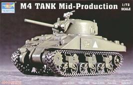 Trumpeter 07223model Kit M4tank (mid) #gag - $23.19