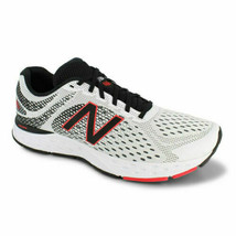 New Balance Mens M680 V6 Running Shoes White Red Black Trainers All Sizes - £59.08 GBP