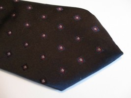 "Blue Red Polka Dots Sears Mens Store Necktie Tie 55"" Long 3"" Wide 414 - $9.07"