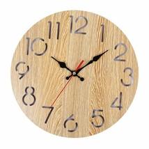Wood Wall Clocks Home Decor Cartoon Modern Wood Wall Clock Vintage Rustic