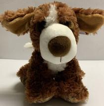 "Aurora Big Paws 9"" Bernie St. Bernard Plush Brown Soft Cute Dog Stuffed Animal - $24.99"