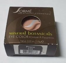 Sorme Mineral Botanicals Eye Shadow, Peace 639 - $15.99
