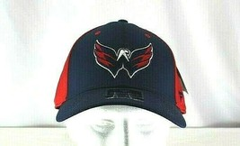 Washington Capitals Blue/Red  Baseball Cap Stretch Fit S/M - $31.99